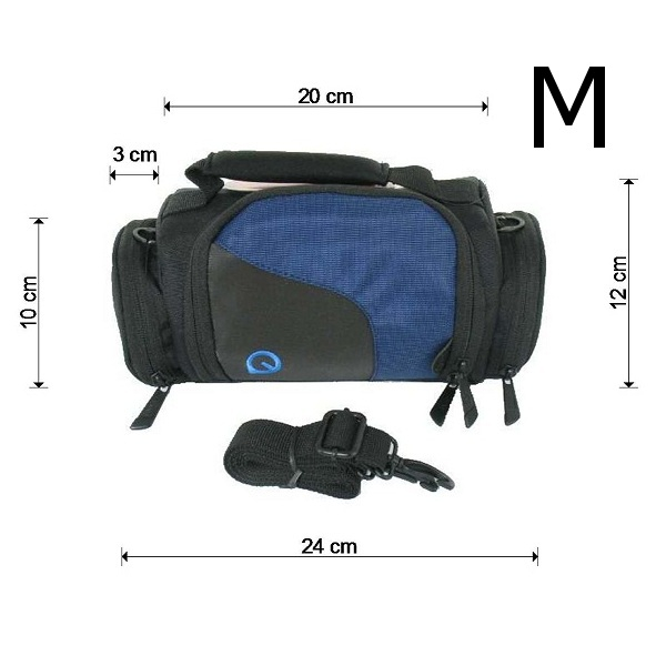 tasche f r digitalkamera bag for digicam dslr slr fototasche 4 gr ssen w hlbar ebay. Black Bedroom Furniture Sets. Home Design Ideas