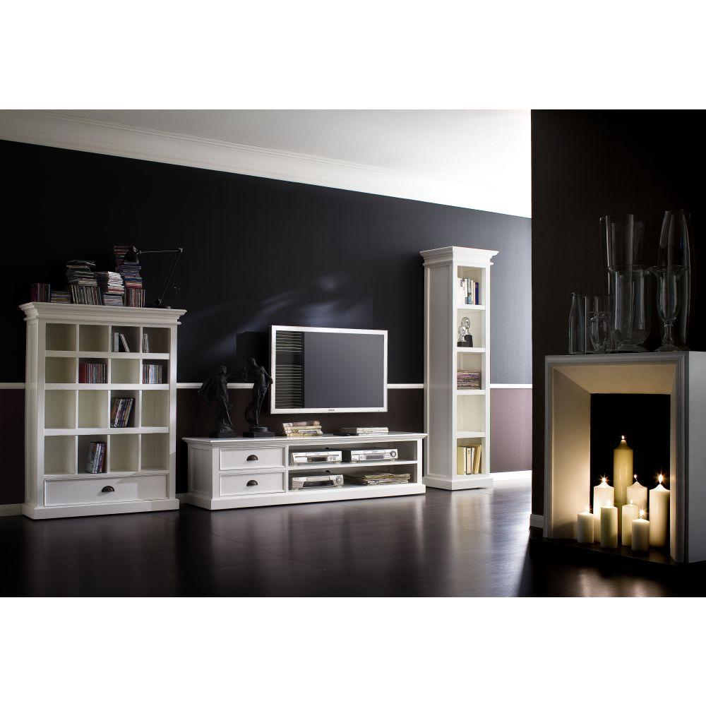 nova solo cd dvd schrank b cherregal regal schublade. Black Bedroom Furniture Sets. Home Design Ideas