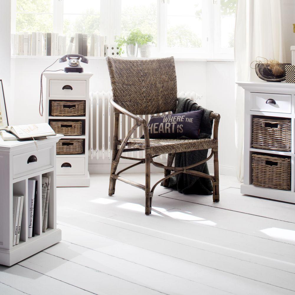 novasolo regal kommode weiss landhaus stil m bel nova solo halifax schrank ebay. Black Bedroom Furniture Sets. Home Design Ideas