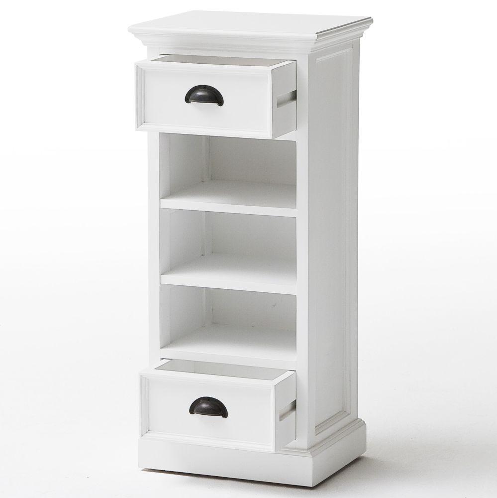 novasolo regal kommode weiss landhaus stil m bel nova solo halifax schrank. Black Bedroom Furniture Sets. Home Design Ideas