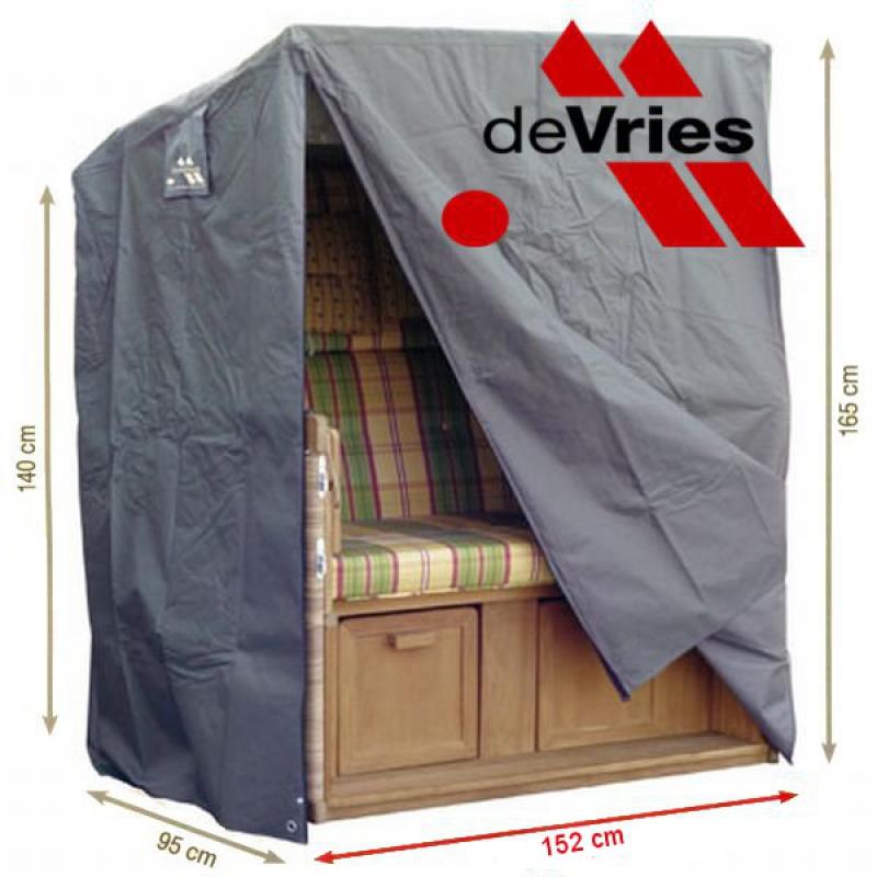 devries ganzjahreshaube strandkorb xxl schutzh lle wetterschutz extragross ebay. Black Bedroom Furniture Sets. Home Design Ideas