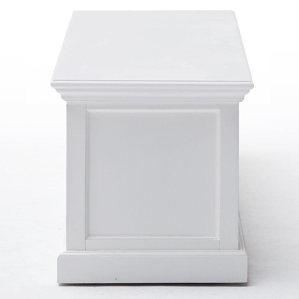 nova solo tv unterschrank sideboard 2 schubladen wei. Black Bedroom Furniture Sets. Home Design Ideas
