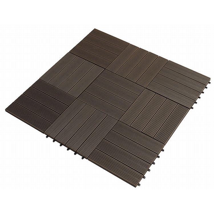 green plank 11 st ck 0 99 m wpc klick fliesen 30x30 cm anthrazit. Black Bedroom Furniture Sets. Home Design Ideas