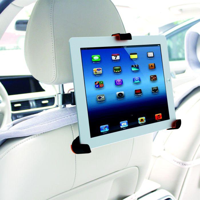 universal kfz halterung f r ipad tablets 8 10 pkw auto kopfst tze stabil ebay. Black Bedroom Furniture Sets. Home Design Ideas