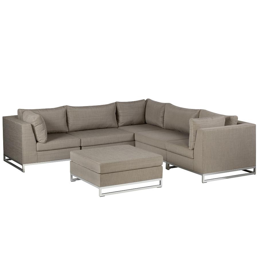 exotan ibiza lounge hocker tisch taupe. Black Bedroom Furniture Sets. Home Design Ideas