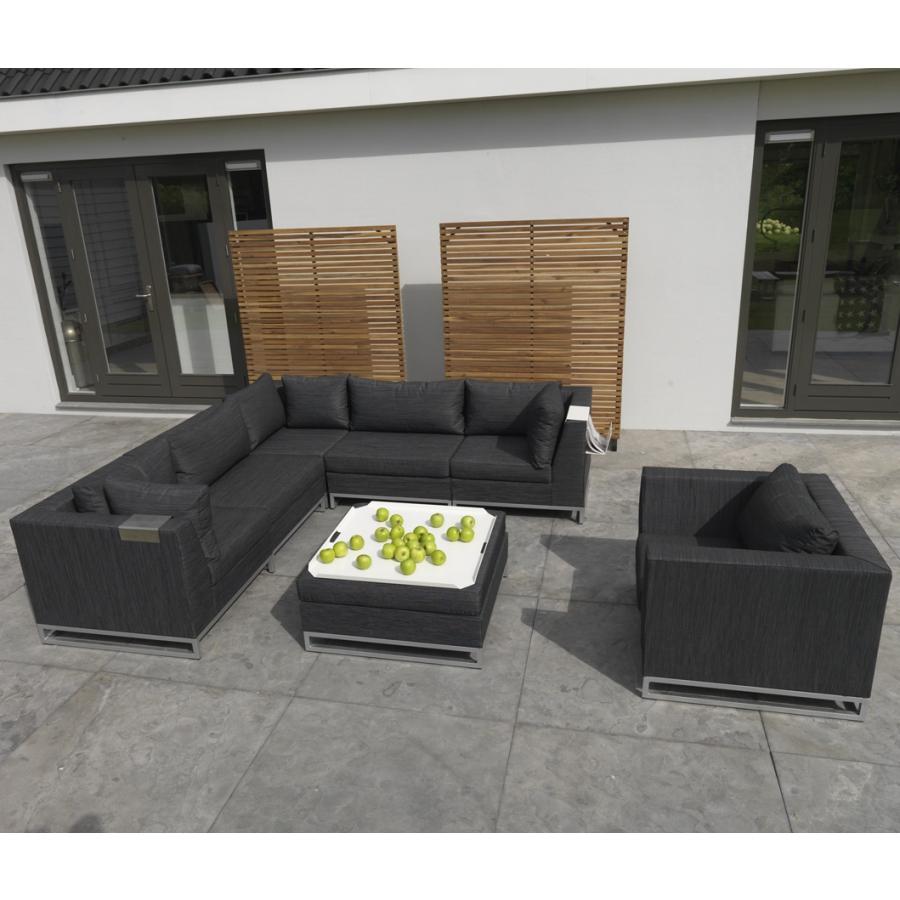 exotan ibiza lounge sessel schwarz. Black Bedroom Furniture Sets. Home Design Ideas