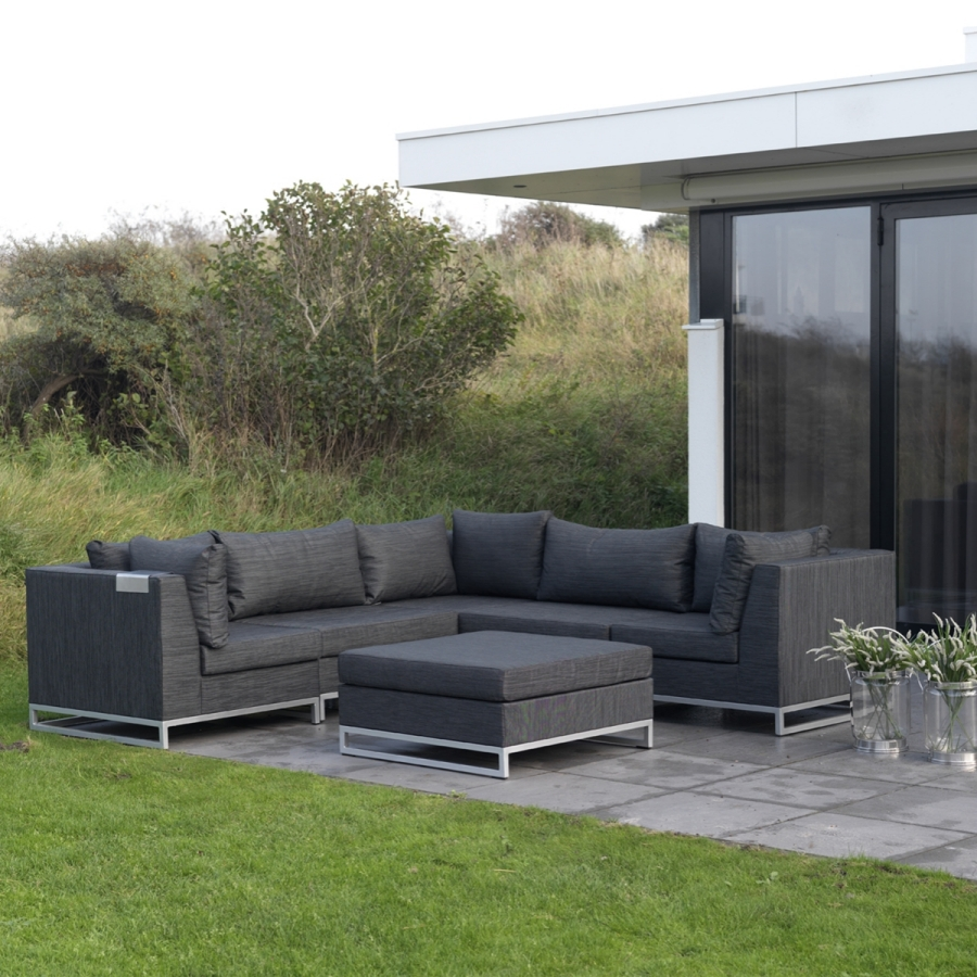 ibiza outdoor garnitur von exotan 6 module erweiterbar garten couch strand sofa ebay. Black Bedroom Furniture Sets. Home Design Ideas