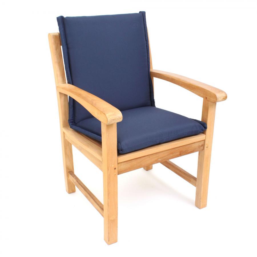 polsterauflage auflage niederlehner blau sitzpolster kissen wasserabweisend ebay. Black Bedroom Furniture Sets. Home Design Ideas