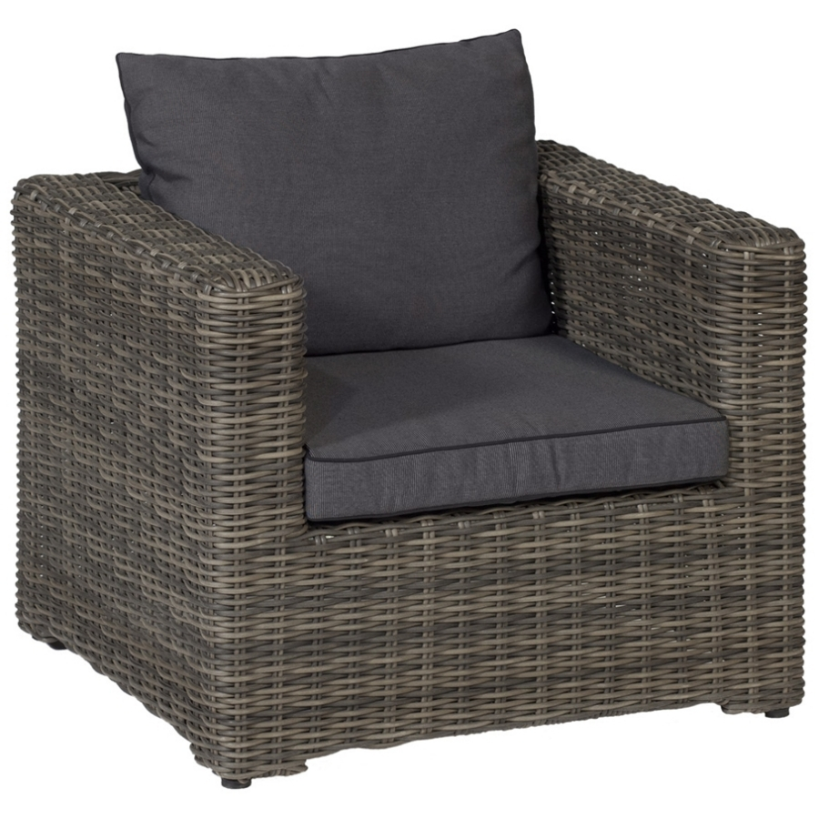 polsterm bel im garten geflecht sessel f r drau en erweiterbar sofa hocker ebay. Black Bedroom Furniture Sets. Home Design Ideas