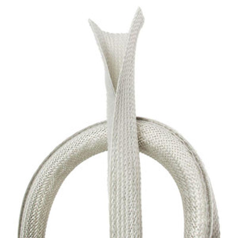kabelh lle schlauch ummantelung f r kabel kabelmanager flexibel meter grau ebay. Black Bedroom Furniture Sets. Home Design Ideas