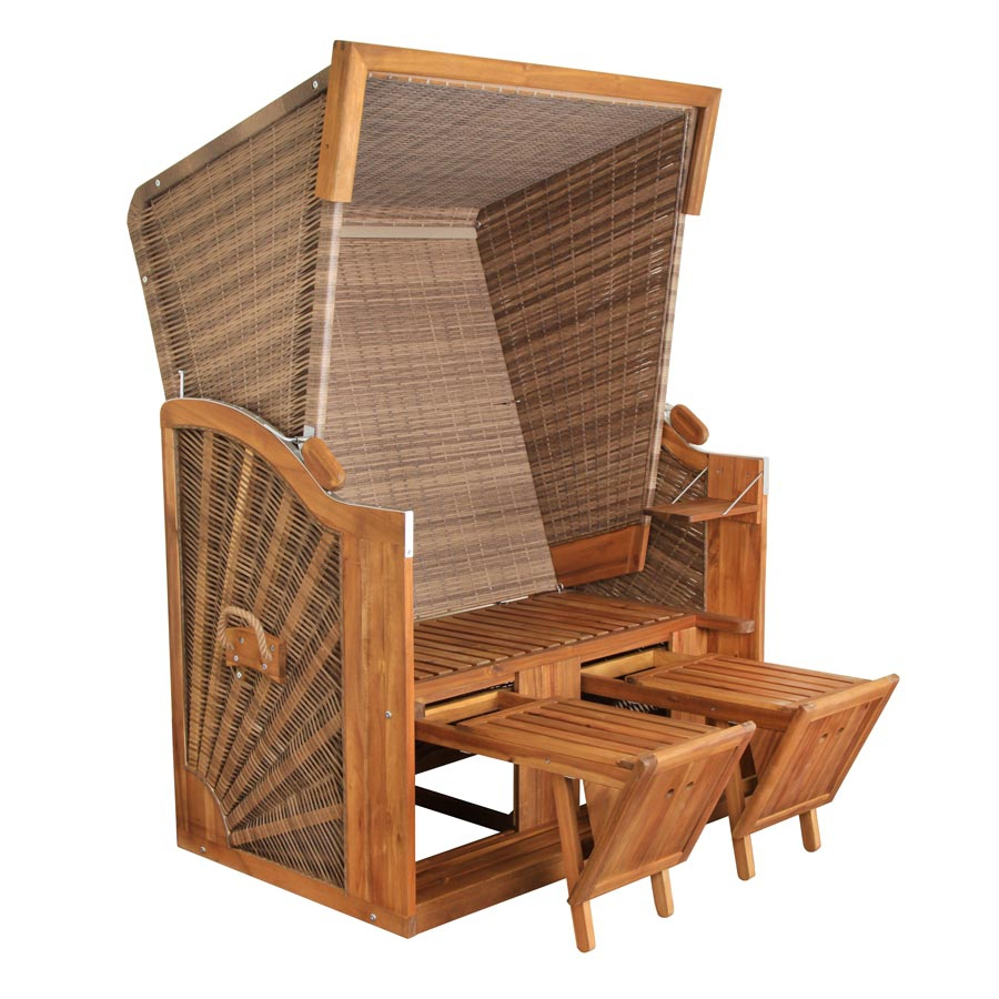 de vries strandkorb strandkorb pure classic xl sun pure. Black Bedroom Furniture Sets. Home Design Ideas