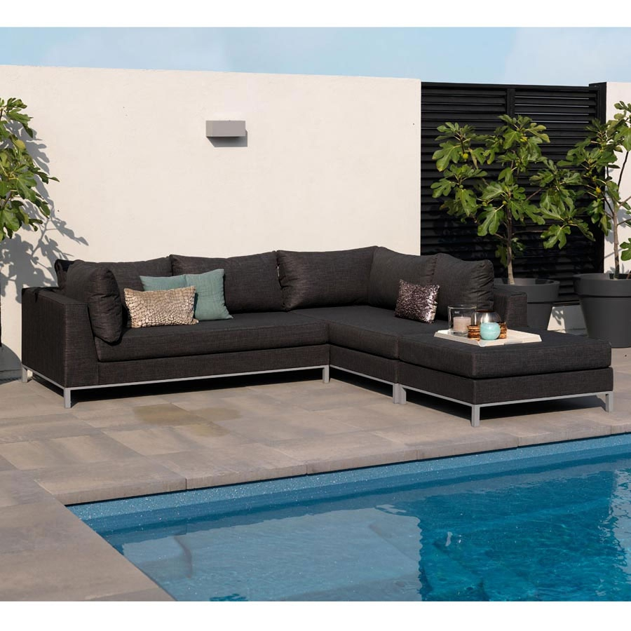 garten terrasse loungem bel strandsofa wetterfest f r outdoor gastronomie ebay. Black Bedroom Furniture Sets. Home Design Ideas
