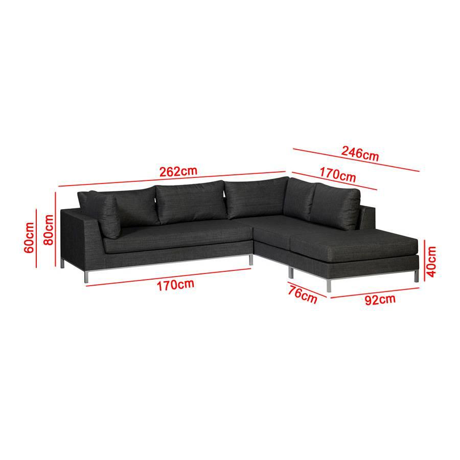 garten terrasse loungem bel strandsofa wetterfest f r. Black Bedroom Furniture Sets. Home Design Ideas