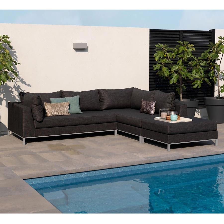 exotan casablanca lounge sessel schwarz. Black Bedroom Furniture Sets. Home Design Ideas