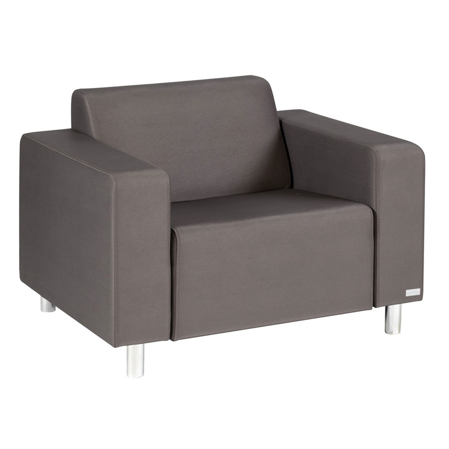 Lounge sessel braun  TRINITI® TOM LOUNGE SESSEL - METEOR BRAUN