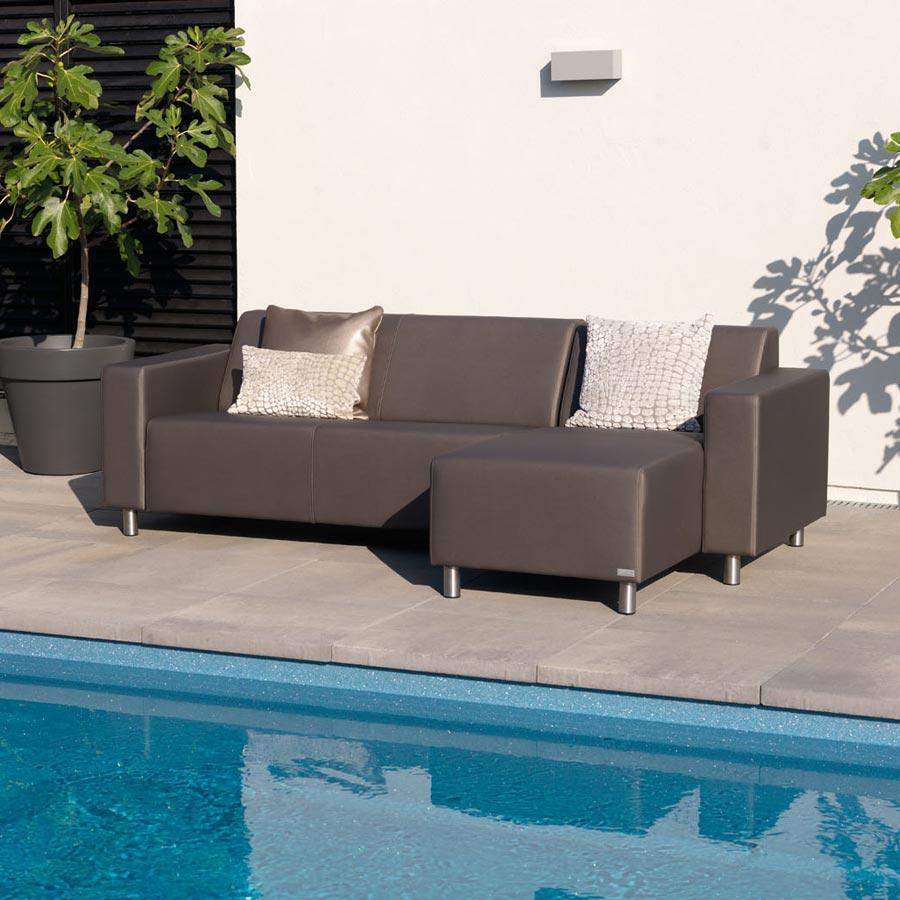 luxus gartenlounge wasserdicht uv best ndig sofa sitzecke f r garten terrasse ebay. Black Bedroom Furniture Sets. Home Design Ideas