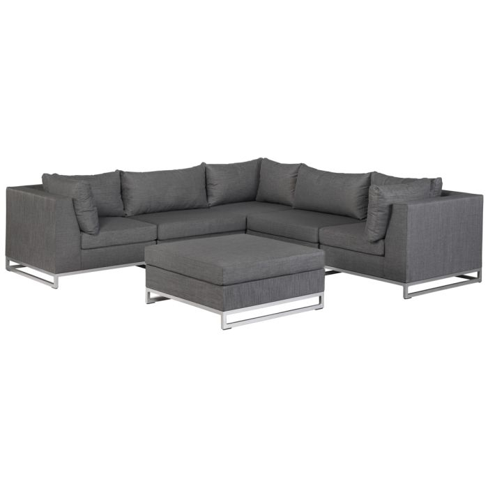 lounge sitzecke f r garten terrasse wetterfest erweiterbar sofa sessel polster ebay. Black Bedroom Furniture Sets. Home Design Ideas