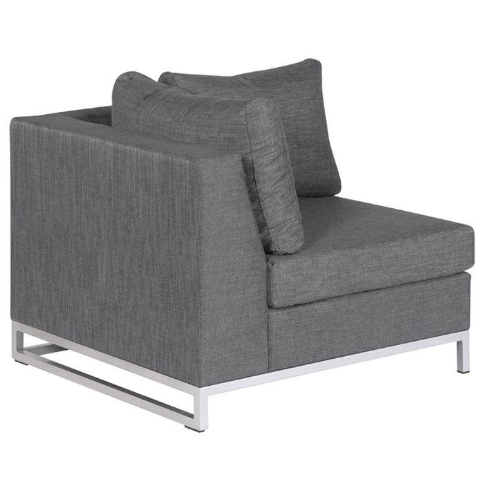 Exotan Ibiza Garten Lounge Sitzecke 6 Teilig Grau Loungemöbel