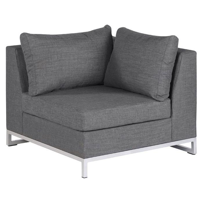 lounge sitzecke f r garten terrasse wetterfest erweiterbar sofa sessel polster ebay. Black Bedroom Furniture Sets. Home Design Ideas