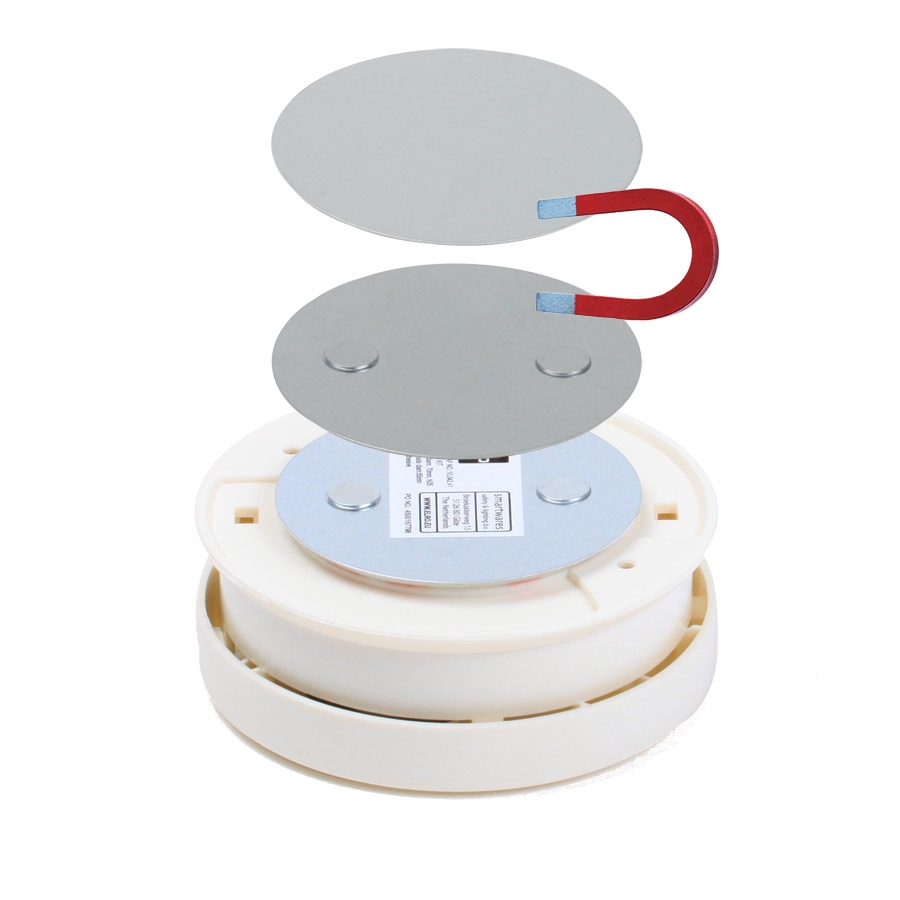 schnellversand magnet klebepad f r rauchmelder ohne bohren halter halterung 3m ebay. Black Bedroom Furniture Sets. Home Design Ideas