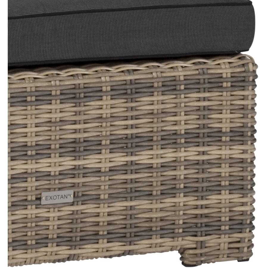 wetterfestes loungesofa sitzecke geflecht polster kissen. Black Bedroom Furniture Sets. Home Design Ideas