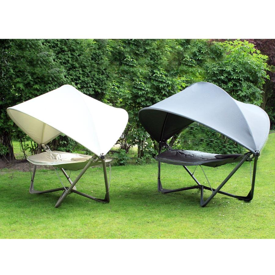 gondola 1 personen h ngematte liege schaukelliege f r garten terrasse hell ebay. Black Bedroom Furniture Sets. Home Design Ideas