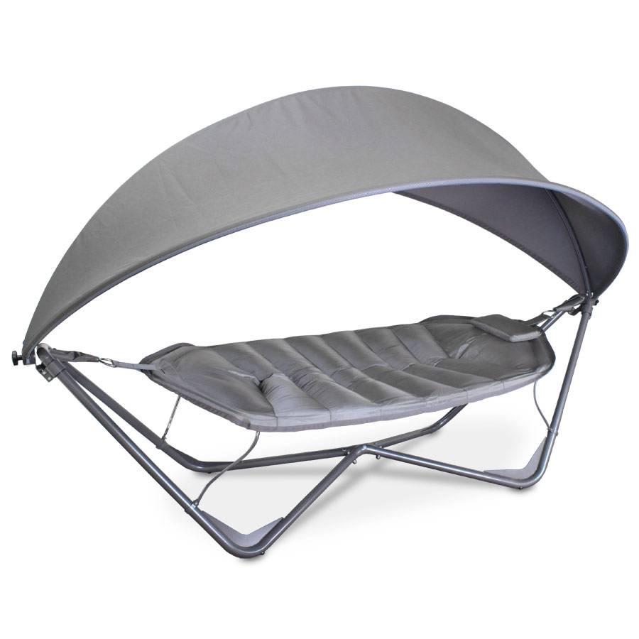 ploss h ngematte schaukelliege gondola 320 cm anthrazit. Black Bedroom Furniture Sets. Home Design Ideas