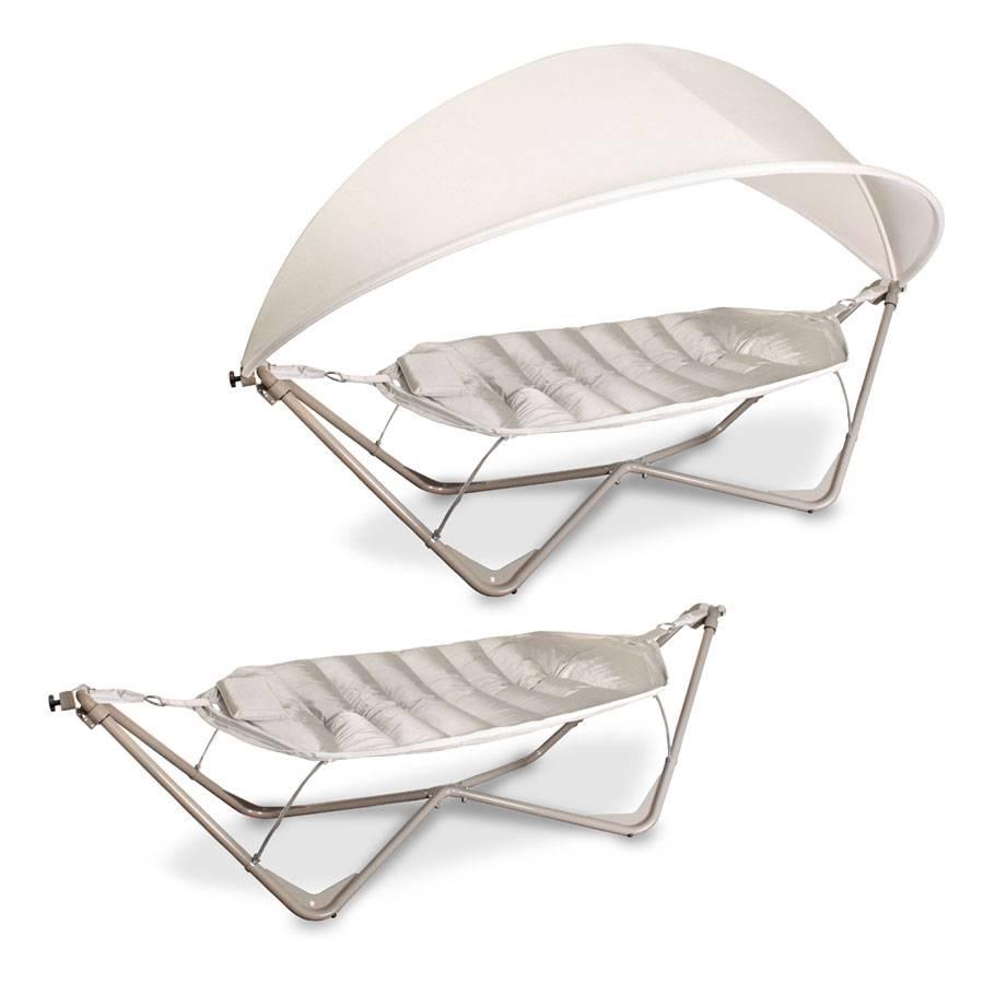 grosse h ngematten liege gartenliege schaukel liege stahlgestell stabil hell ebay. Black Bedroom Furniture Sets. Home Design Ideas