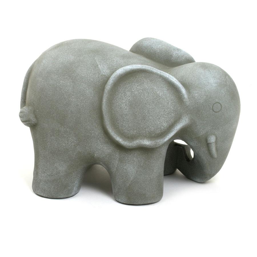Keramik deko figur elefant 23cm f r haus und garten for Keramik deko garten