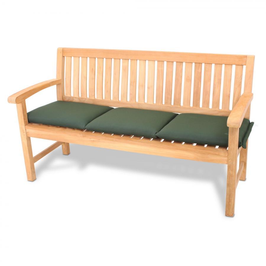 auflage polster kissen f r bank 2 sitzer oder 3 sitzer bankauflage gartenbank ebay. Black Bedroom Furniture Sets. Home Design Ideas