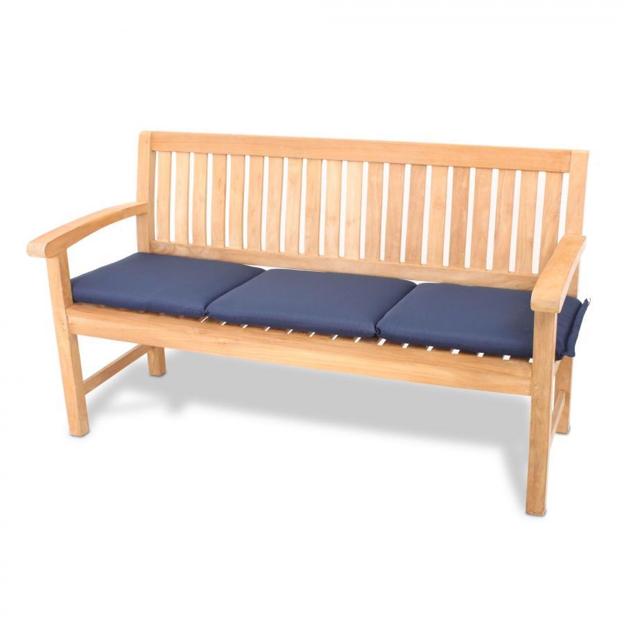 vivagardea auflage f r gartenbank blau blue cushion. Black Bedroom Furniture Sets. Home Design Ideas