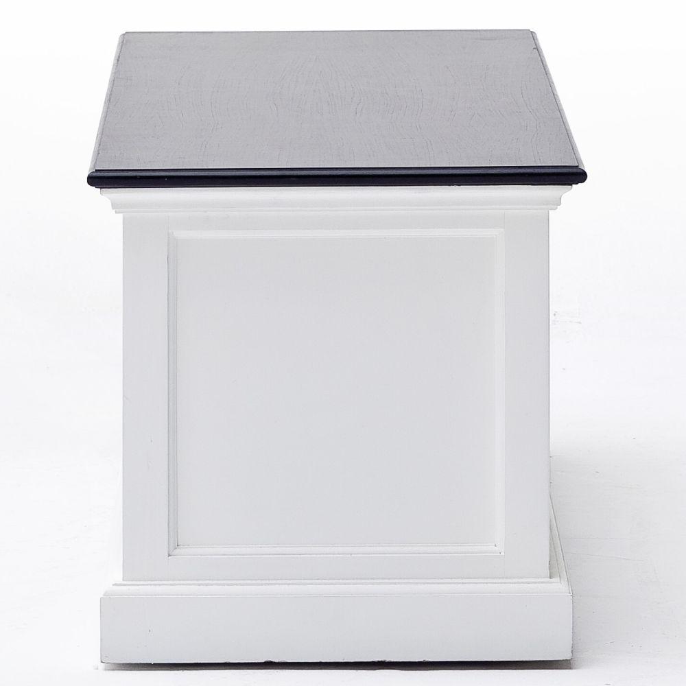 fernsehschrank tv board 120 cm schwarz weiss mahagoni. Black Bedroom Furniture Sets. Home Design Ideas