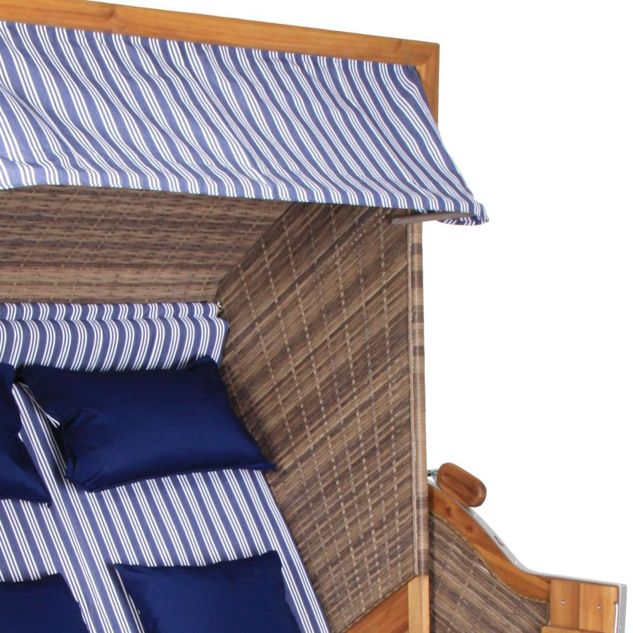 strandkorb trendy pure 140 rugbyclubeemland. Black Bedroom Furniture Sets. Home Design Ideas