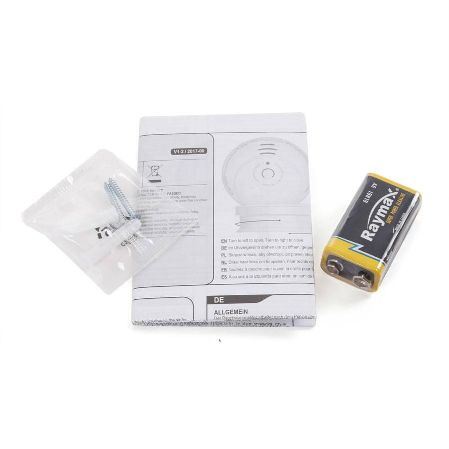 smartwares optischer rauchmelder holzoptik rm149h 85db holz imitat brandmelder ebay. Black Bedroom Furniture Sets. Home Design Ideas