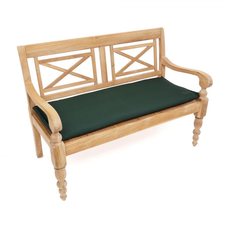 polster kissen auflage f r bank 2 sitzer 110 cm waschbar. Black Bedroom Furniture Sets. Home Design Ideas