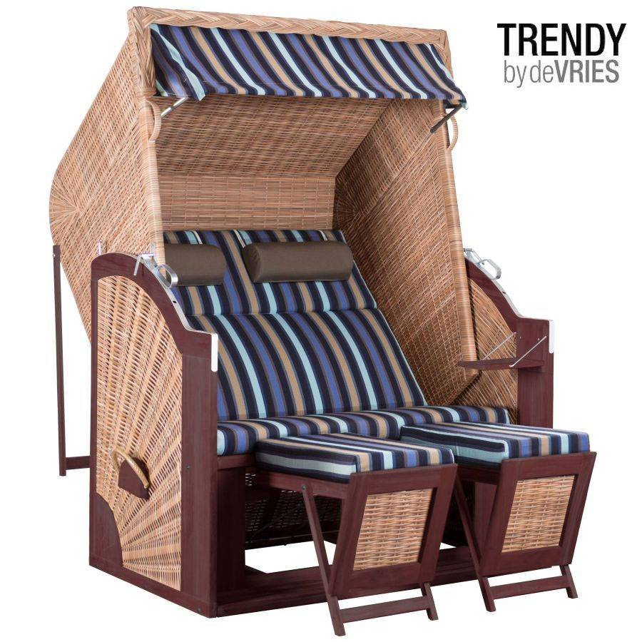 devries strandkorb trendy pure classic xl sun griseum des. Black Bedroom Furniture Sets. Home Design Ideas