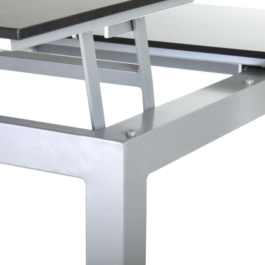 Outdoor lounge tisch h he verstellbar couchtisch design for Tisch outdoor design