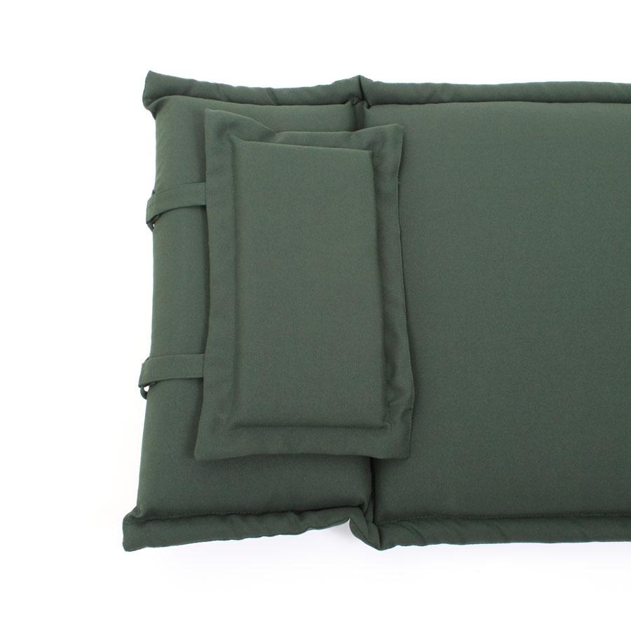 rog gardenline auflage f r liegestuhl deckchair gr n neu laden in hamburg ebay. Black Bedroom Furniture Sets. Home Design Ideas