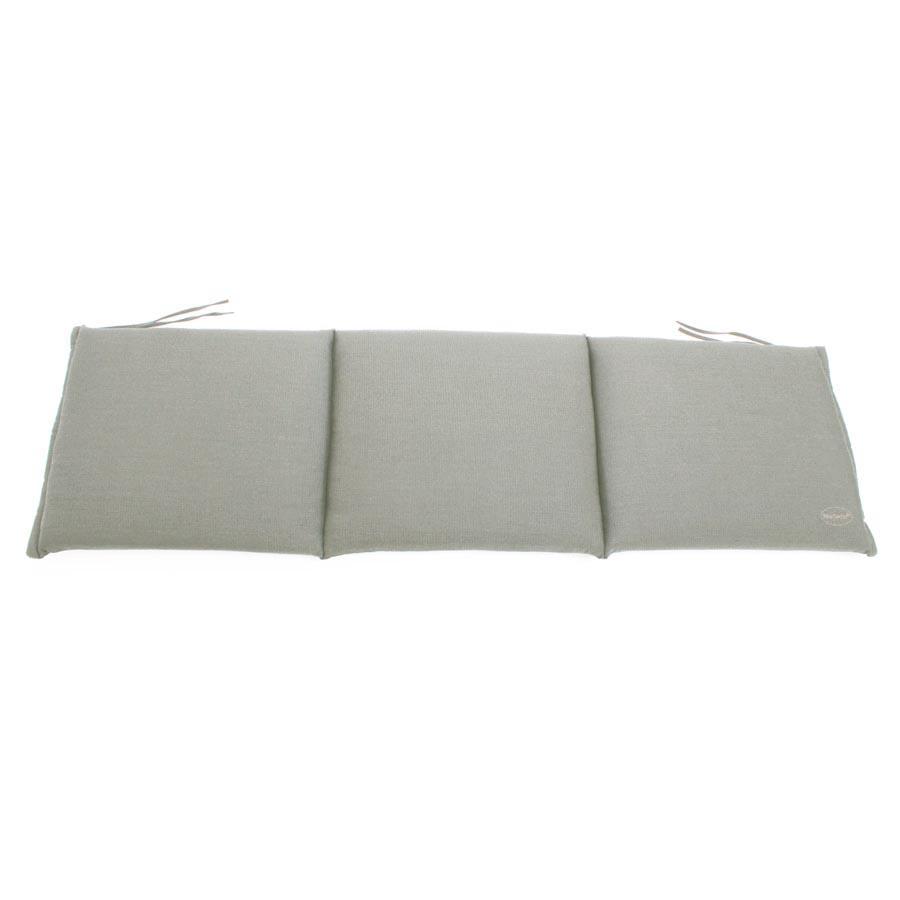 auflage f r sitzbank bank kissen 150x45 cm grau wasserabweisend vivagardea ebay. Black Bedroom Furniture Sets. Home Design Ideas