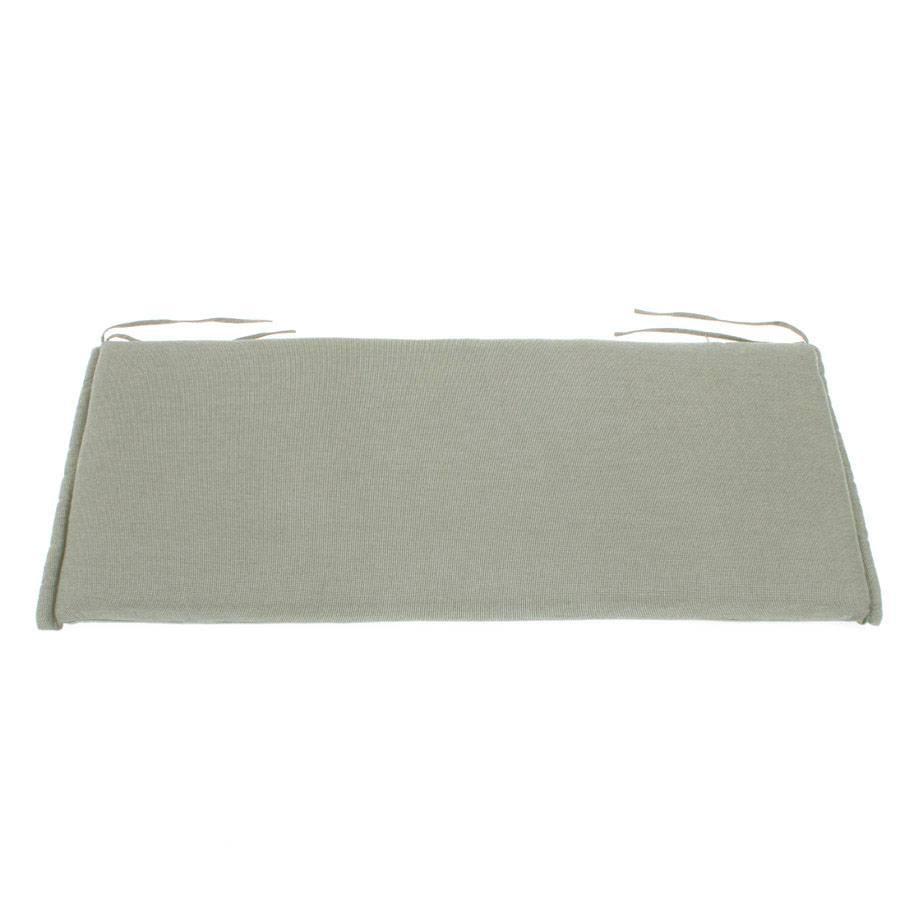 roggemann kissen auflage f r bank 2 sitzer 110 x 45 cm taupe grau perleffekt ebay. Black Bedroom Furniture Sets. Home Design Ideas