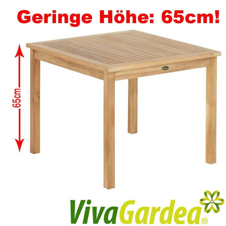 teak holz tisch gartentisch terrassentisch teakholz. Black Bedroom Furniture Sets. Home Design Ideas