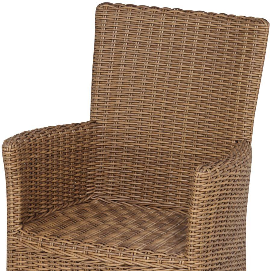 hochwertiger geflechtstuhl geflechtsessel f r garten und terrasse sehr bequem ebay. Black Bedroom Furniture Sets. Home Design Ideas