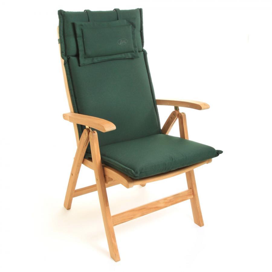 Details Zu Auflage Für Hochlehner Gartenstuhl Stuhl 119 X 46 Cm Sitzkissen Waschbar Grün