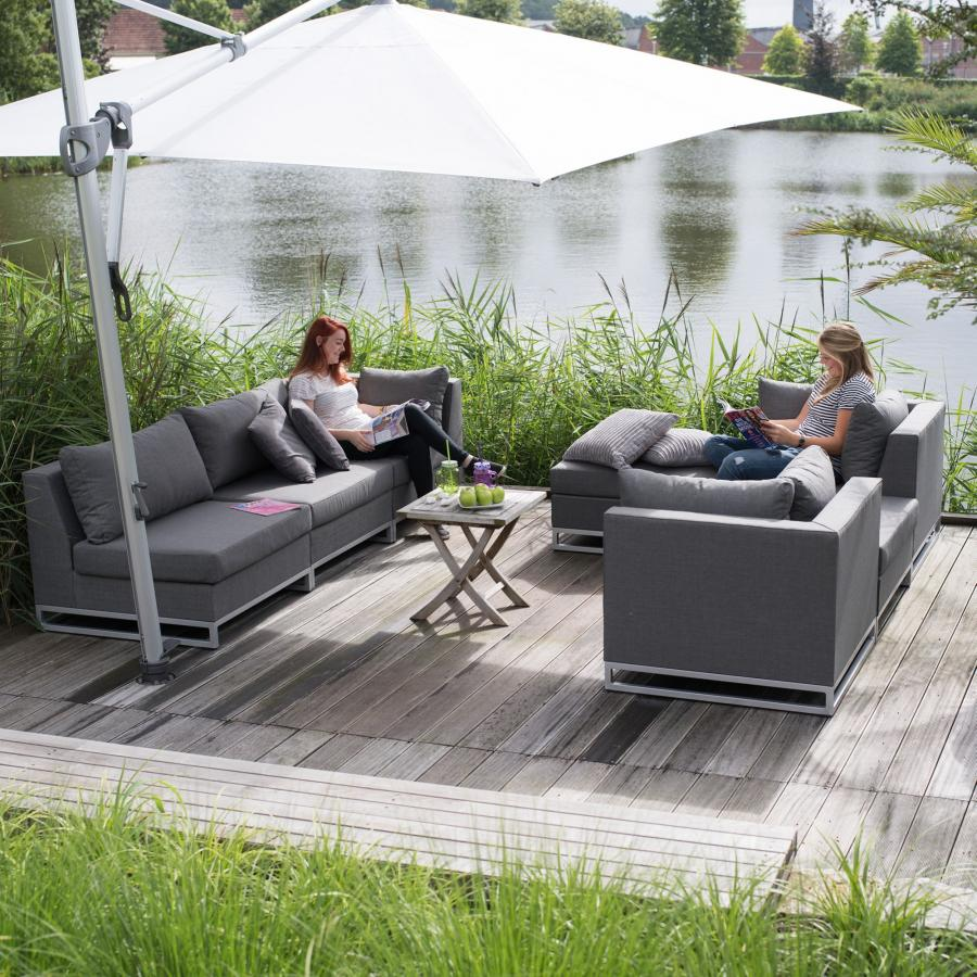 exotan nanotex rhodos lounge sessel wetterfest persoon gartensessel terrasse ebay. Black Bedroom Furniture Sets. Home Design Ideas