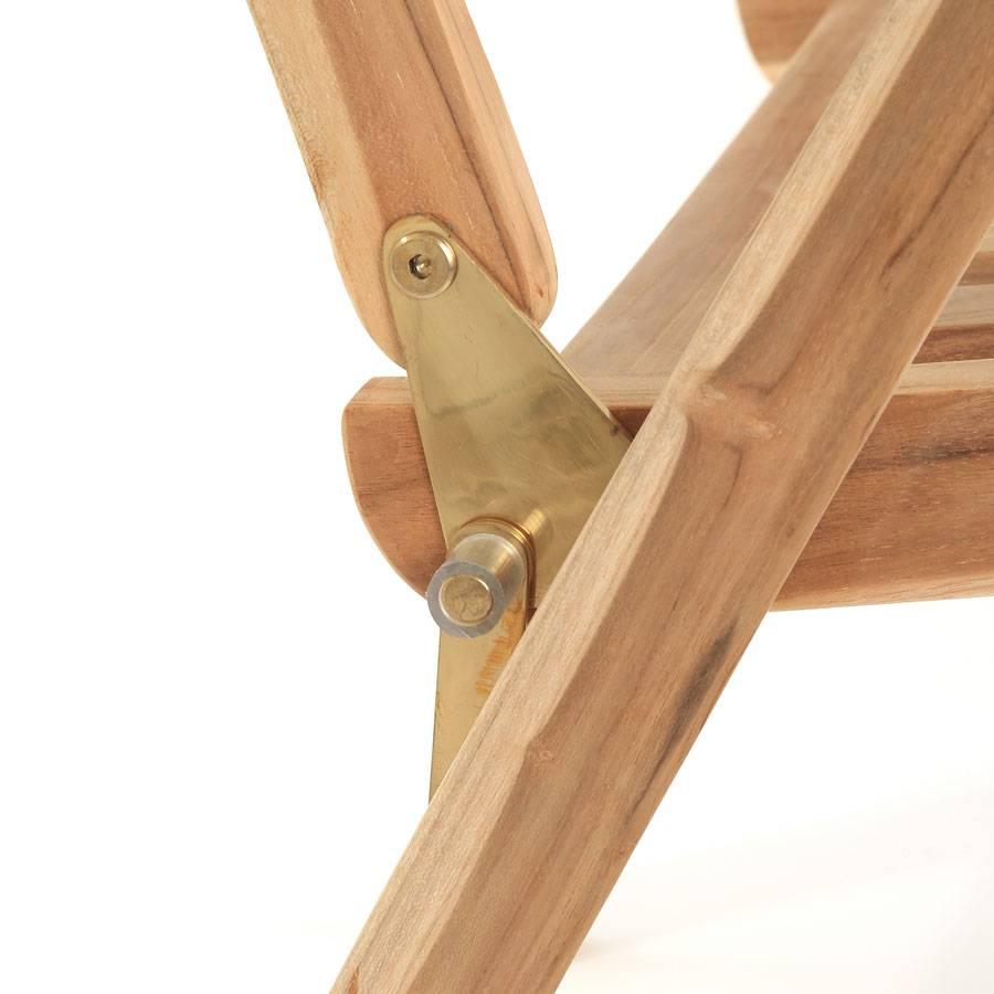 eco teak holzstuhl hochlehner klappstuhl teakholz terrasse. Black Bedroom Furniture Sets. Home Design Ideas