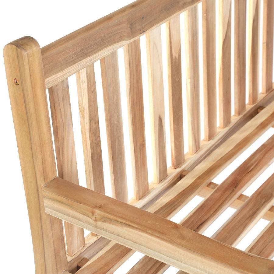teakholz bank sitzbank terrassenbank veranda garten. Black Bedroom Furniture Sets. Home Design Ideas