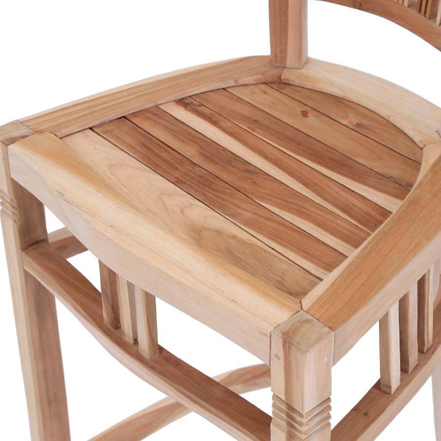 ploss eco teak barhocker new orleans. Black Bedroom Furniture Sets. Home Design Ideas