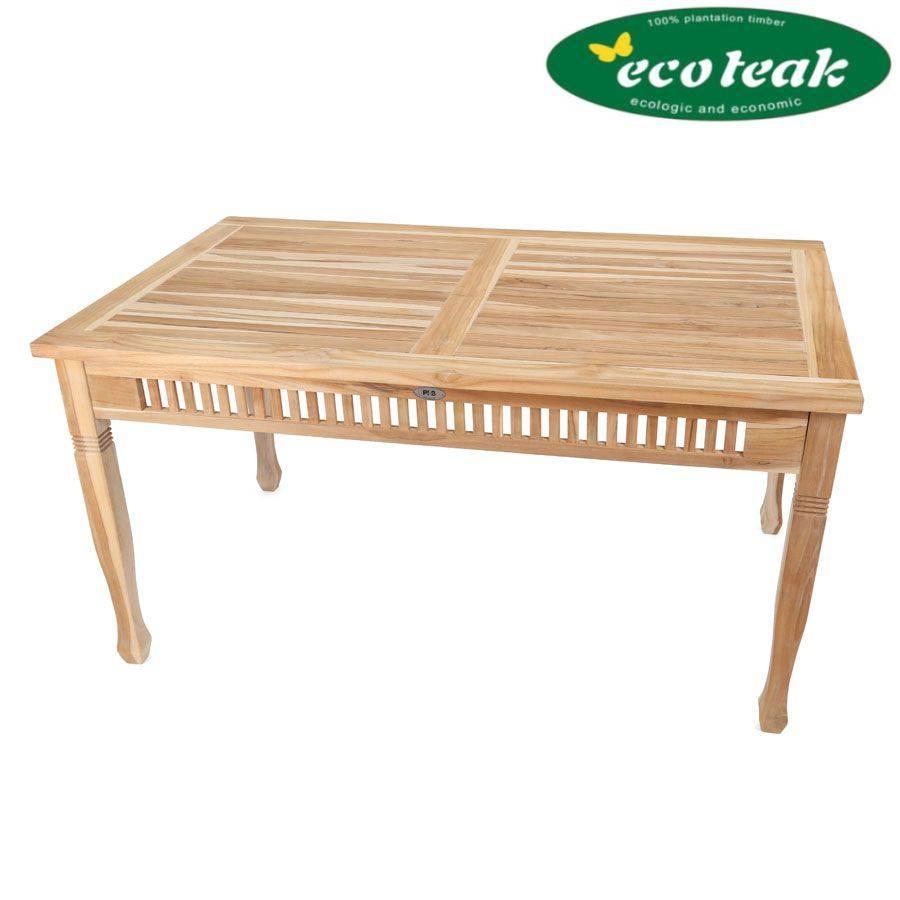 ploss eco teak tisch new orleans rechteckig 150 x 90 cm teak designm bel. Black Bedroom Furniture Sets. Home Design Ideas