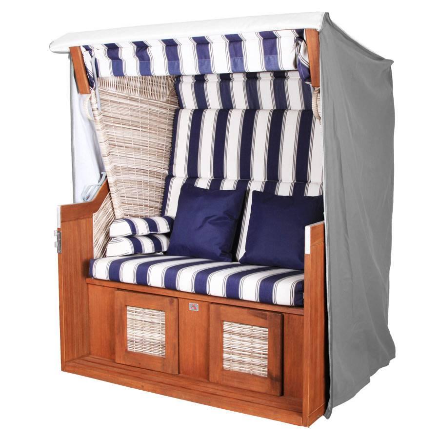 vivagardea premium strandkorb haube ganzjahreshaube schutzh lle xxl 148 cm grau ebay. Black Bedroom Furniture Sets. Home Design Ideas