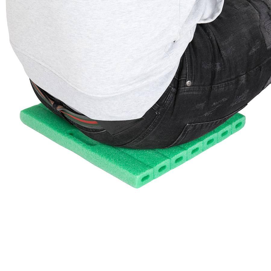 unterlage f r knie bei gartenarbeit knieschutz schoner schaumstoff kissen gross ebay. Black Bedroom Furniture Sets. Home Design Ideas